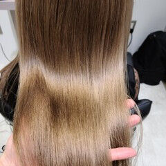 髪質改善トリートメント エレガント 髪質改善カラー トリートメント ヘアスタイルや髪型の写真・画像