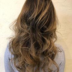 大人ハイライト デート コントラストハイライト 外国人風カラー ヘアスタイルや髪型の写真・画像