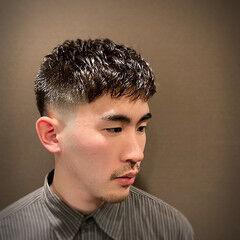 ストリート ショートヘア ベリーショート スキンフェード ヘアスタイルや髪型の写真・画像