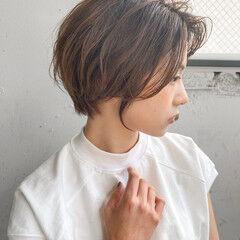 前髪 デジタルパーマ 大人かわいい フェミニン ヘアスタイルや髪型の写真・画像