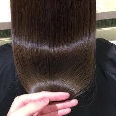 ストレート 艶髪 表参道 イルミナカラー ヘアスタイルや髪型の写真・画像