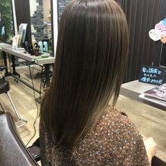 髪の病院 名古屋市守山区 セミロング トリートメント ヘアスタイルや髪型の写真・画像