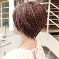 ミニボブ ショート ショートヘア ショートボブ ヘアスタイルや髪型の写真・画像