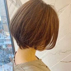 ショート ショートボブ 銀座美容室 大人可愛い ヘアスタイルや髪型の写真・画像
