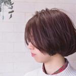 髪質改善 ナチュラル ボブ 髪質改善カラー