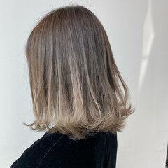 切りっぱなしボブ エレガント 春 海系 ヘアスタイルや髪型の写真・画像