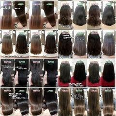 ナチュラル 髪の病院 名古屋市守山区 美髪 ヘアスタイルや髪型の写真・画像