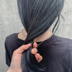 透明感カラー ナチュラル 切りっぱなしボブ ブルージュ ヘアスタイルや髪型の写真・画像