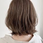 ナチュラル アンニュイほつれヘア 似合わせカット 透明感カラー