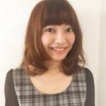 モテ髪 コンサバ ミディアム フェミニン