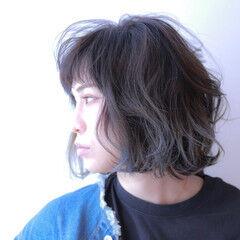 デート ナチュラル パーマ アンニュイほつれヘア ヘアスタイルや髪型の写真・画像