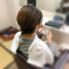 和装髪型 ナチュラル ショート 成人式ヘア ヘアスタイルや髪型の写真・画像