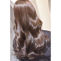ナチュラル ロング 艶髪 艶カラー ヘアスタイルや髪型の写真・画像