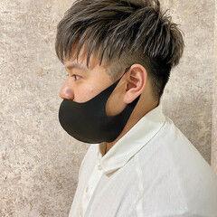 ツーブロック ブリーチ必須 メンズヘア ショート ヘアスタイルや髪型の写真・画像