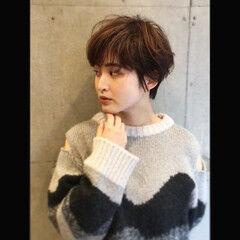 東京ヘアスタイル ショート ヘアスタイル ショートボブ ヘアスタイルや髪型の写真・画像