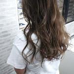 夏 ダブルカラー フェミニン かき上げ前髪