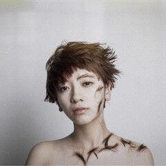 ショート モード ウィッグ ウェットヘア ヘアスタイルや髪型の写真・画像