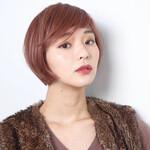 艶髪 ミニボブ 40代 エレガント