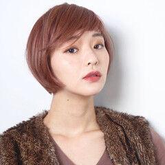 艶髪 ミニボブ 40代 エレガント ヘアスタイルや髪型の写真・画像