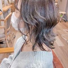 ラベンダーアッシュ ナチュラル ミントアッシュ アッシュグレー ヘアスタイルや髪型の写真・画像
