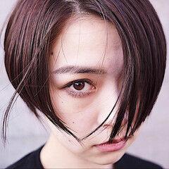 大人グラボブ ショートボブ ミニボブ モード ヘアスタイルや髪型の写真・画像