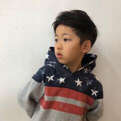 キッズカット ショート メンズカット 子供 ヘアスタイルや髪型の写真・画像