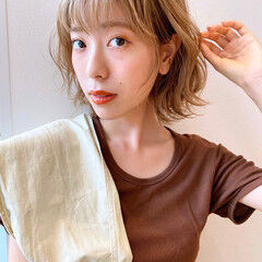 パーマ ゆるふわパーマ ボブ パーマ ヘアスタイルや髪型の写真・画像