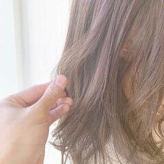 ナチュラル  セミロング モテ髪 ヘアスタイルや髪型の写真・画像