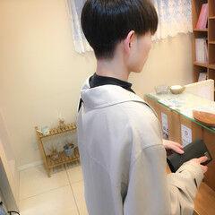 モテ髪 ナチュラル ショート メンズ ヘアスタイルや髪型の写真・画像