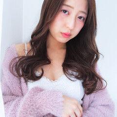 フェミニン 韓国ヘア あざとい モテ髪 ヘアスタイルや髪型の写真・画像
