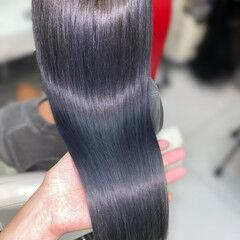 oggiotto ブリーチカラー ストリート サイエンスアクア ヘアスタイルや髪型の写真・画像
