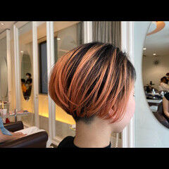 ショート 刈り上げショート ショートヘア ナチュラル ヘアスタイルや髪型の写真・画像