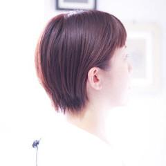 ラベンダーピンク ナチュラル ピンクベージュ ピンクブラウン ヘアスタイルや髪型の写真・画像