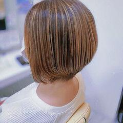 大人ハイライト ナチュラル コントラストハイライト 3Dハイライト ヘアスタイルや髪型の写真・画像