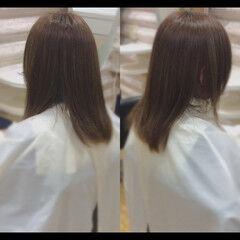 髪質改善 髪質改善カラー ナチュラル 髪質改善トリートメント ヘアスタイルや髪型の写真・画像