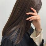 ミディアム ツヤ髪 大人女子 エレガント