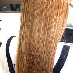 ロング 髪質改善トリートメント フェミニン 髪質改善 ヘアスタイルや髪型の写真・画像