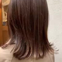 デート グラデーションカラー アンニュイほつれヘア 外ハネボブ ヘアスタイルや髪型の写真・画像