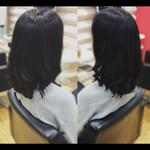 セミロング 髪質改善トリートメント ナチュラル 社会人の味方
