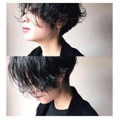 レディース 坊主 小顔 ショート ヘアスタイルや髪型の写真・画像