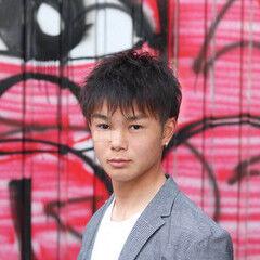 福岡市 ナチュラル ベリーショート メンズヘア ヘアスタイルや髪型の写真・画像