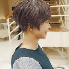ショート ショートボブ ピンクアッシュ ショートヘア ヘアスタイルや髪型の写真・画像