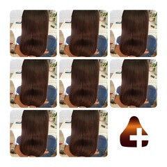 ロング ナチュラル 美髪 髪質改善 ヘアスタイルや髪型の写真・画像
