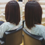 髪質改善トリートメント 鎖骨ミディアム ナチュラル ミディアム