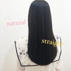 N.オイル ロング 髪質改善トリートメント ナチュラル ヘアスタイルや髪型の写真・画像