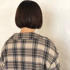 ボブ ママヘア 簡単スタイリング お手入れ簡単!! ヘアスタイルや髪型の写真・画像