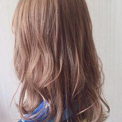 ミディアム 透明感 アウトドア スポーツ ヘアスタイルや髪型の写真・画像