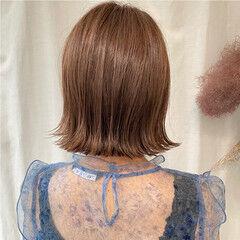 ボブ 外ハネボブ ミニボブ まとまるボブ ヘアスタイルや髪型の写真・画像