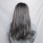 ショートボブ ロング インナーカラー ショートヘア