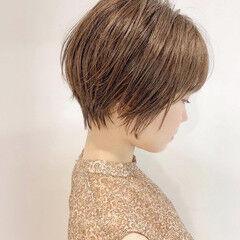 ミニボブ ショート ショートボブ ショートヘア ヘアスタイルや髪型の写真・画像